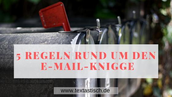 5 Regeln für den E-Mail-Knigge