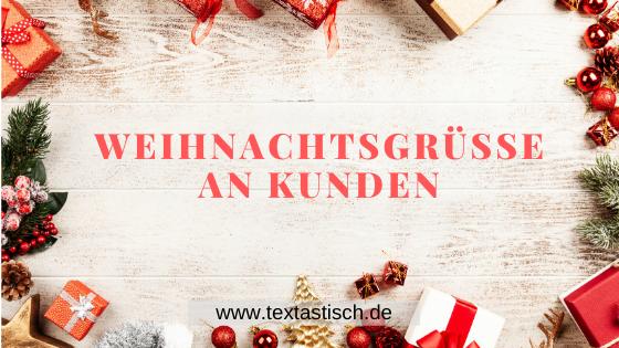 Weihnachtsgrüße an Kunden: Text-Ideen