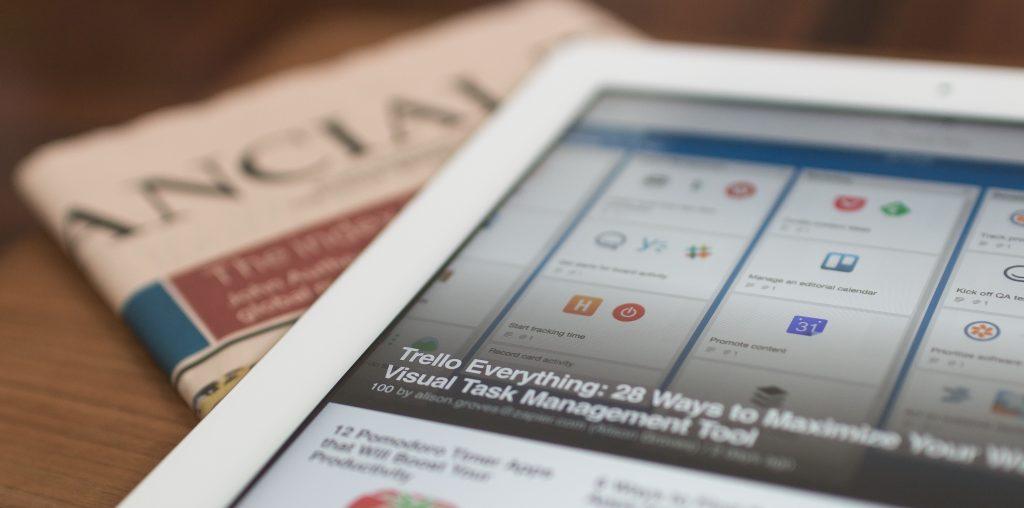 Branchen-News als Idee für den Newsletter