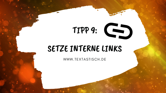 Interne Links setzen