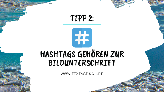 Hashtags bei Instagram