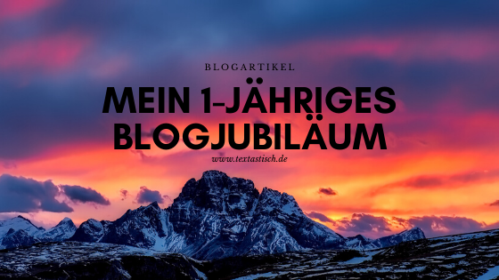 Blogjubiläum und das erfolgreiche Bloggen