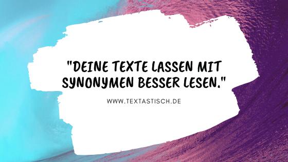 Lesbarkeit deiner Texte