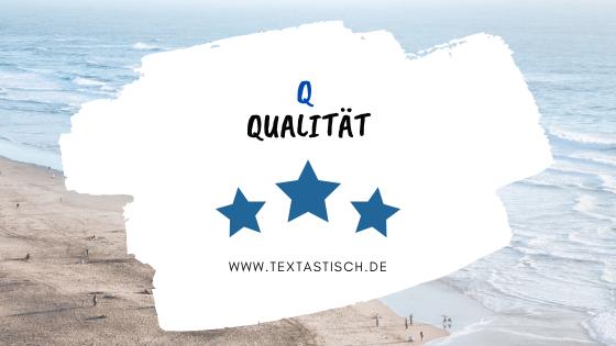 Qualitativ hochwertige Texte schreiben lassen