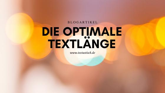 Länge SEO-Text
