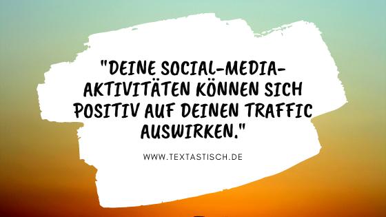 Social Media und Website-Traffic