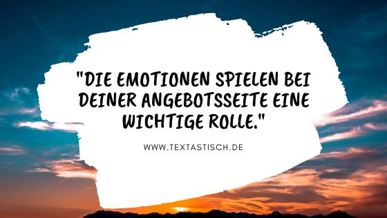 Emotionen im Content-Marketing