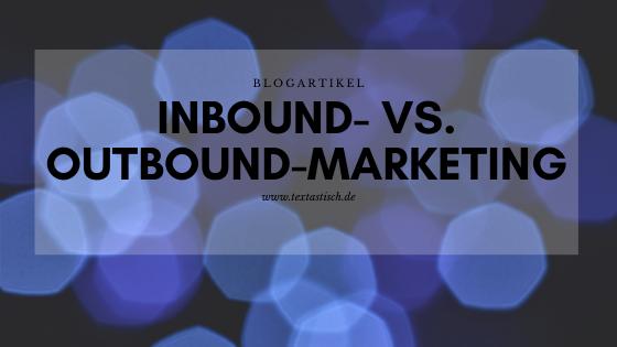 Inbound Outbound Unterschied