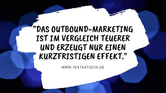 Outbound-Marketing Nachteile