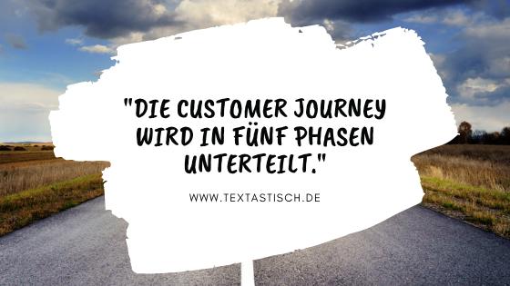 5 Phasen der Customer Journey