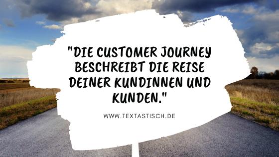 Customer Journey Kundenreise Definition Erklärung