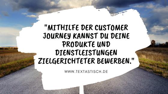 Vorteile der Kundenreise