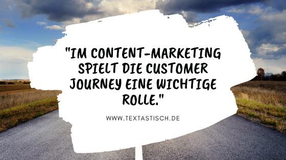 Customer Journey im Content-Marketing
