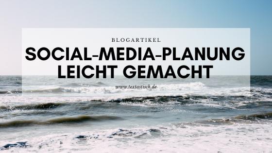 Social-Media-Planung für Unternehmen