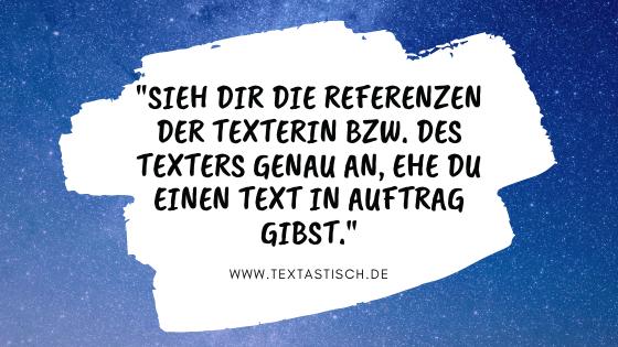 Website-Texter finden