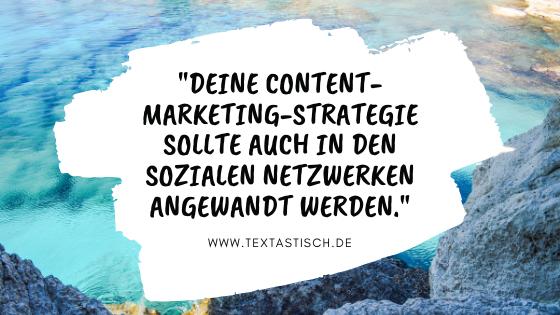 Content-Marketing-Strategie in den sozialen Netzwerken